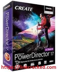 PowerDirector 17 Crack With Key Full Version Free Download